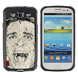 SHIMIN CAO@ Man Psycho America President Flag Usa Rugged Hybrid Armor Slim Protection Case Cover Shell For S3 Case ,I9300 Case Cover ,I9308 case ,Leather for S3 ,S3 Leather Cover Case
