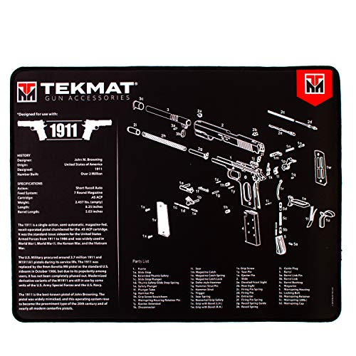 TekMat Ultra Gun Cleaning Mat for use with - Recoil Spring 1911