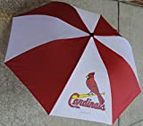 Coopersburg MLB St. Louis Cardinals Unisex MLB St. Louis Cardinals Folding Umbrella, Red, 48''