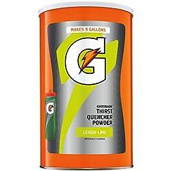 Gatorade Thirst Quencher Powder, Lemon Lime, 76.5 oz.
