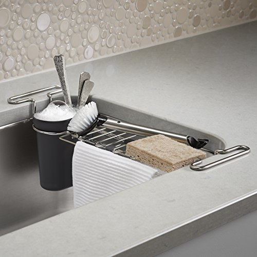 Kohler Multi Purpose Over The Sink Drying Rack Caddy With Kitchen