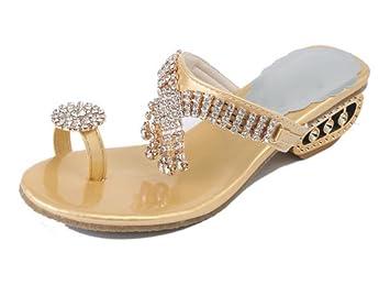 Strass Sandalen mit dicken weiblichen weiblichen Sommer vorne offen ... ... offen 8cd6e2