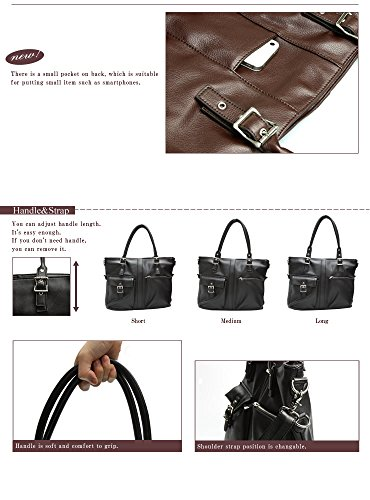 [Craft Nine] 3-way Shoulder/Tote Bag for Men and Women