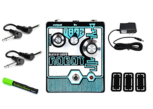 Death By Audio Robot 8 Bit Synthesizer PRYMAXE PEDAL BUNDLE by Death By Audio