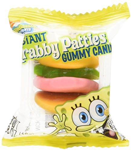 Gummy Krabby Patty (SpongeBob Squarepants Giant Gummy Krabby Patties 0.63 OZ (36)