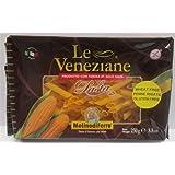 Le Veneziane - Italian Penne Rigate Pasta [Gluten-Free], (4)- 8.8 oz. Pkgs