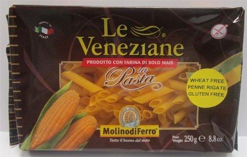 - Le Veneziane - Italian Penne Rigate Pasta [Gluten-Free], (4)- 8.8 oz. Pkgs