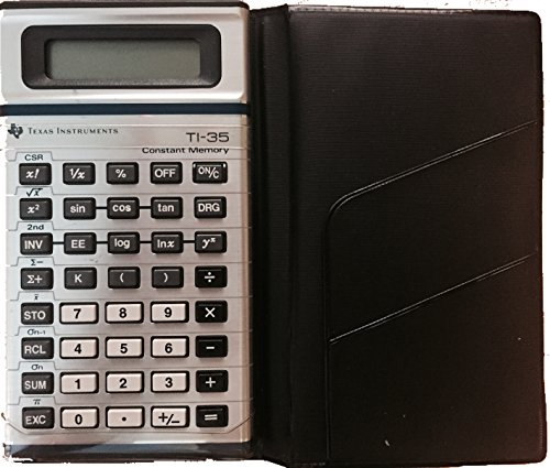 Texas Instruments TI-35 Constant Memory Scientific Calculator