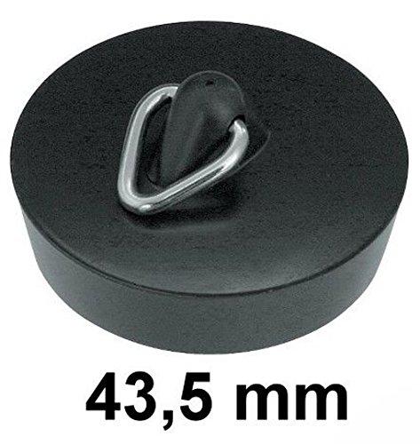 Abfluß stopfen 43,5 mm, schwarz Stopfen Stö psel Waschbecken Diverse Hersteller