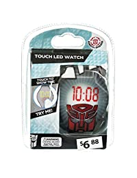 Transformers Kids Touch LED Watch