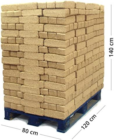 Acalora Briquetas de Madera – Palet de 1.100 kg: Amazon.es: Hogar