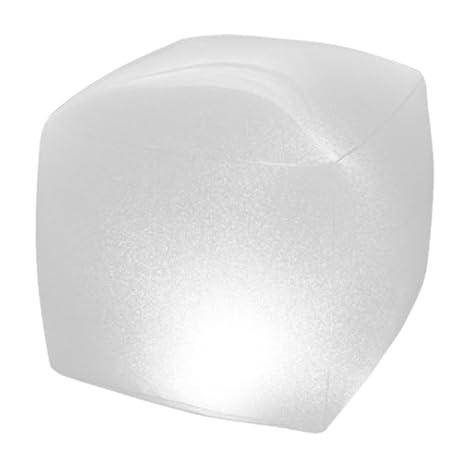 Intex 28694 - Lámpara LED flotante para piscinas & forma de Cubo 23 x 23 x
