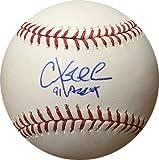 Chuck Knoblauch Signed Official Major League Baseball 91 AL ROY minor bleed Minnesota Twins