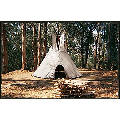 RT 14 inch of Liner Door Lacepins and Bag Cheynne Tipi/Teepee Style Outdoor Tent: Garden & Outdoor