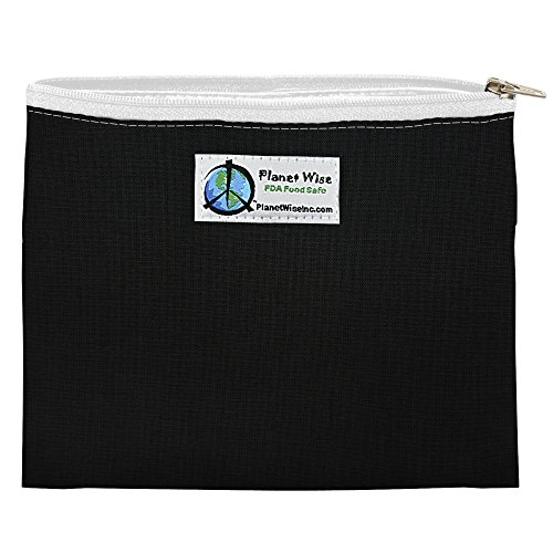 Black Patent Lunch Bag - 7