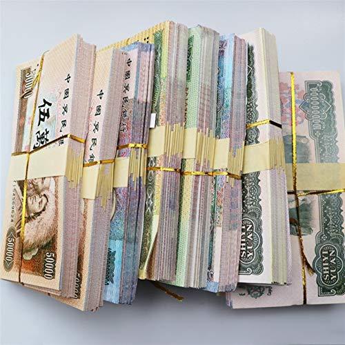 Dapanji Random 5 Billion or 10 Billion Ancestor Money Bank Notes Chinese Yuan Joss Paper Ghost Money Honoring Ancestors 28.314.3cm (Size : 28.314.3cm)