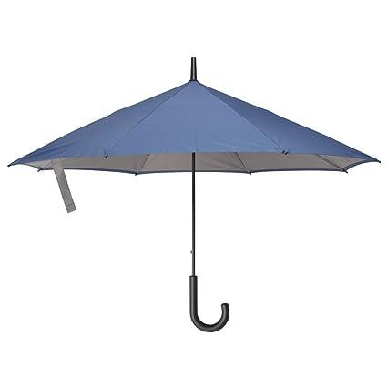 Paraguas del revés - Reverso - Color azul