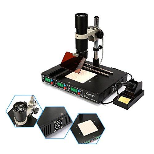 New T862++ BGA Rework Station Infrared IRDA Welder Soldering Welding Machine (T862++) (Best Ir Bga Rework Station)