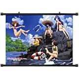 GIRLS und PANZER Anime Fabric Wall Scroll Poster (32 x 23) Inches. [WP]-GIRLS-1 (L)
