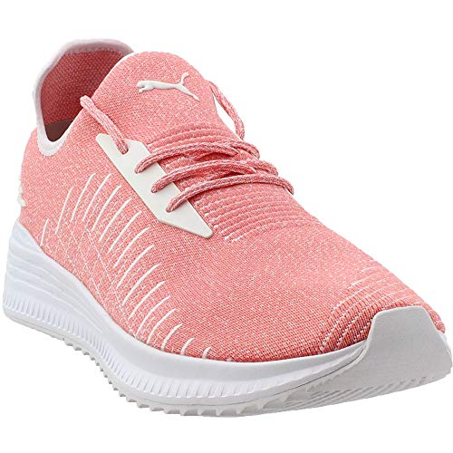 PUMA Mens Avid Evoknit Athletic Shoes Pink 12 (Mens Slip On Shoes Puma)