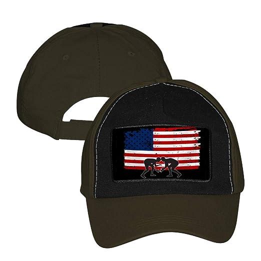 1aa97196547 PGtwo Fashion Basketball American Flag Baseball Hat Unisex Adjustable  Cricket Cap Peaked Cap Army Green at Amazon Men s Clothing store