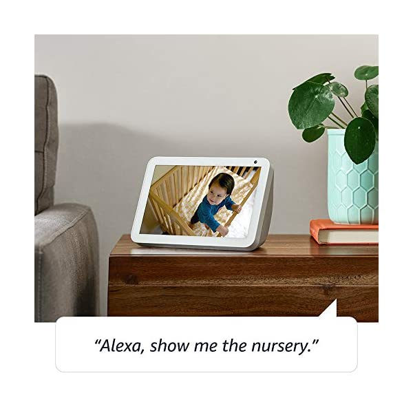 Echo Show 8 -- HD smart display with Alexa – stay connected with video calling - Charcoal 5