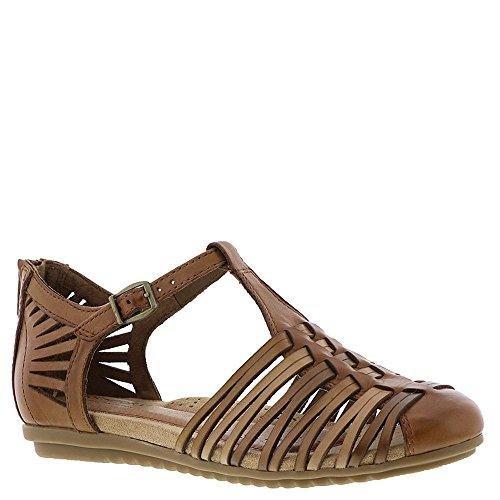 Rockport Womens Cobb Hill Inglewood Hurache Tan Multi Sandal - 10 M