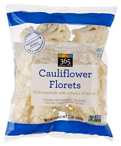 365 Everyday Value, Cauliflower Florets, 12 oz bag