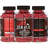 Diabloz - Thermogenic Stimulant Based Fat Burner Supplement to Support Weight Loss - Increase in Energy and Focus - Includes Caffeine and Green Tea Extract - 120 Capsules