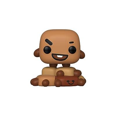 Funko 40239 POP Vinyl Animation: BT21-Shooky BT21 Shooky Collectible Figure, Multicolour, Multicolor, Basic: Toys & Games [5Bkhe0204514]