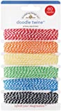 Doodle Twine Assortment Pack 60yds-Primary