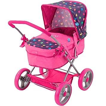verstellbarer Rückenlehne und g Puppenwagen Julia mit Babyschale Hauck Kombi
