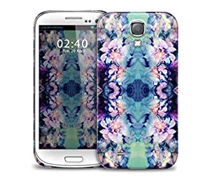 floral watercolour kaleidoscope pattern Samsung Galaxy S4 GS4 protective phone case