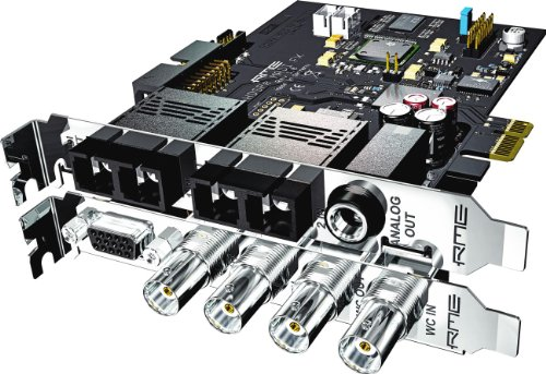 RME | Internal PCI Express HDSPe MADI FX, High-Performance Multi-Channel Audio System Total FX with 192kHz Effects Engine