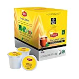 Lipton Natural Energy Premium Black Tea single serve pods for Keurig K-Cup brewers, 96 Count