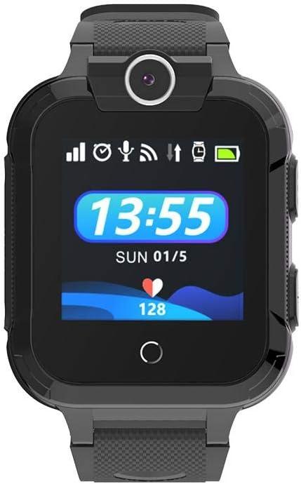 Explea Reloj Inteligente para niños 4G, Reloj para niños Pulsera de posicionamiento GPS Resistente al Agua Pulsera con Pantalla LCD, conversación bidireccional