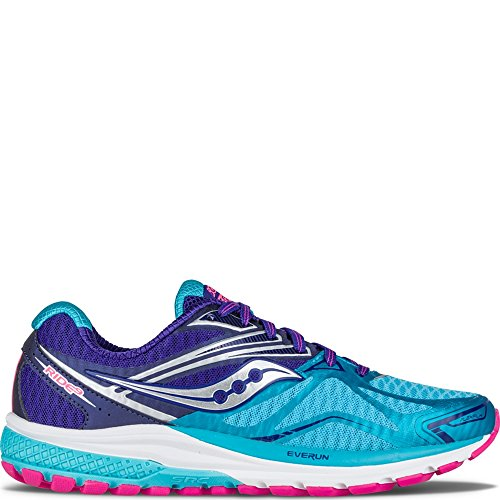 Saucony Ride 9 Narrow Women 10 Navy | Blue | Pink