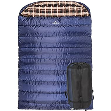 TETON Sports Mammoth Queen Size Sleeping Bag; Free Compression Sack Included