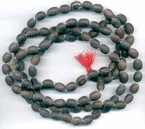- LOTUS SEED BEADS OR KAMAL GATTA KAMALGATTA 108+1 PRAYER BEADS ROSARY JAAP JAPA MALA KARMA NECKLACE. BLESSED & ENERGIZED HINDU TIBETAN BUDDHIST SUBHA ROSARY FOR NIRVANA, BHAKTI, FOR REMOVING INNER DOSHAS, FOR CHANTING AUM OM, FOR AWAKENING CHAKRA, KUNDALINI THROUGH YOGA MEDITATION