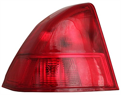 Honda Civic Tail Light - Left Rear / Back Tail Lamp Sedan - Back Lamp