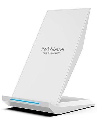 Amazon.com: Cargador inalámbrico rápido NANAMI Qi ...