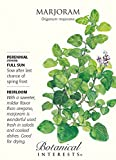 Marjoram Seeds - 500 milligrams - Heirloom by Botanical Interests