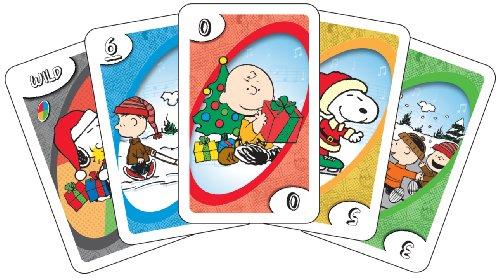 Charlie Brown Christmas Uno (Uno Peanuts)