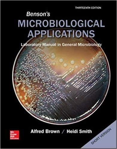 Bensons microbiological applications laboratory manual in general bensons microbiological applications laboratory manual in general microbiology short version 13th edition fandeluxe Images