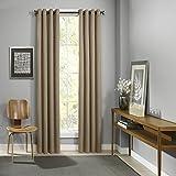 Best Eclipse Blackout Curtains - Eclipse Palisade Blackout Grommet Window Curtain Panel Clay Review
