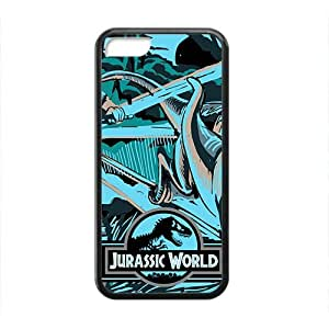 Fashion Cartoon Anime Comics Character Jurassic Park Black For HTC One M7 Phone Case Cover