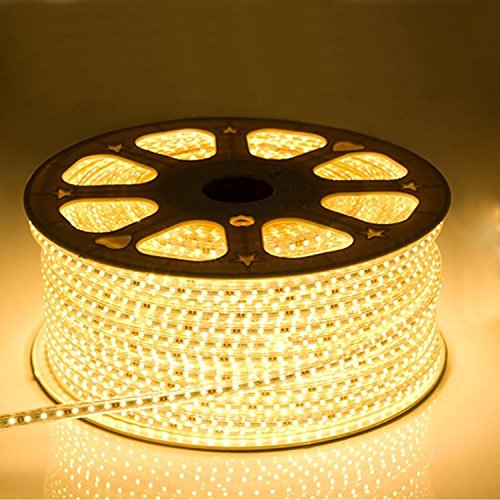 sports shoes 0c1f7 fa969 Bright Electronics Decorative 20 Meter LED Rope Light, Water Proof, Color:  Warm White(Yellow) with Adapter