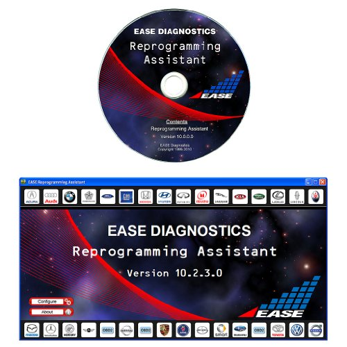 EASE J2534 Pass-Thru Reprogramming Assistant Software for