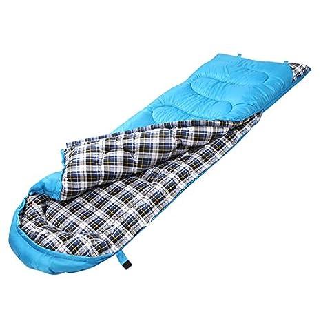 SUHAGN Saco de dormir Bolsa De Dormir Puede Ser Algodón Cosido Doble Exterior Adultos Saco De