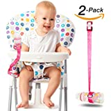 Heaven's Bliss Baby Bottle Holder Stop Drop (Pink 2-Pack)